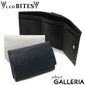【最大13倍 Rカードで15倍】エルイーディーバイツ 財布 L.E.D.BITES 三つ折り財布 Grele コンパクト 小銭入れあり メンズ レディース レザー 本革 B-7745