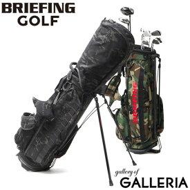 ノベルティ付 【日本正規品】 ブリーフィング ゴルフ キャディバッグ BRIEFING GOLF CR-4 #02 ゴルフバッグ スタンド 9.5型 5分割 ショルダー 迷彩 ブランド メンズ レディース BRG203D22 ウッドランドカモ 2021SS