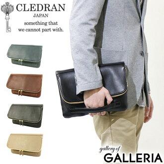 CLEDRAN Bag DETOU clutch bag mens ladies leather bag CLM-1014