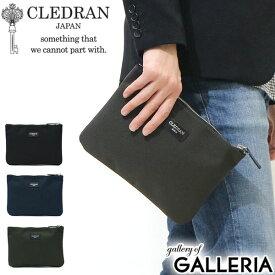 【楽天カードで9倍】 クレドラン バッグ CLEDRAN クラッチバッグ DEUX TRAVA デュートラヴァ CLUTCH S ビジネス ポーチ ナイロン 本革 メンズ CLM-1134