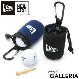 【楽天カードで20倍 | 12/10限定】【正規取扱店】 ニューエラ ゴルフ ボールポーチ NEW ERA ボールホルダー メンズ レディース GOLF BALL POUCH