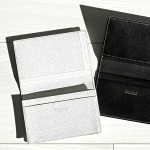 名刺入れ ブラック カードケース メンズ CHE BELLO ケッベロ 牛カーフ 本革 人気 ブラック 高級 おしゃれ シンプル 黒 男性用 紳士 プレゼント 送料無料 財布 メンズ 二つ折り 小銭入れなし 小さ