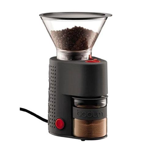 ボダム ビストロコーヒーグラインダー ブラック コーヒーミル 電動式コーヒーグラインダー