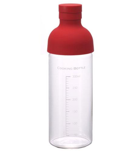 HARIO (ハリオ) クッキングボトル 300ml レッド