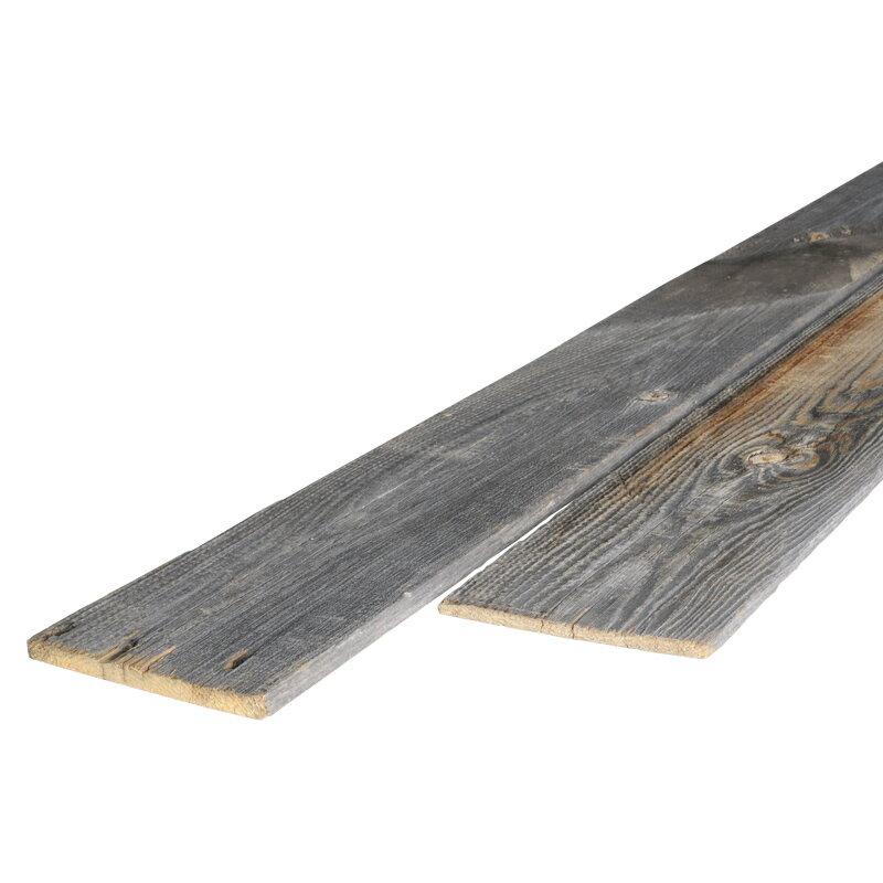 ランチ・フェンス・ハーフ 長さ2400mm (販売単位:1枚)※送料無料対象外【送料区分4】【古材 壁板 壁材diy無垢 木材 本物 リフォーム 羽板 グレーウッド 薄板 什器 販売 通販】