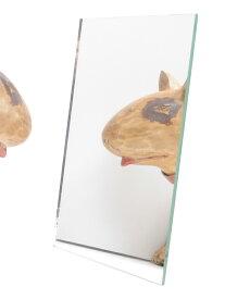 【同時購入用】5×7インチ ミラー(GALLUPフレーム専用)※必ず対応するサイズのフレームと一緒にご注文ください。【ミラー 鏡2L判 トイレ 洗面台 美容室 サロン ディスプレイ】