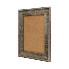 バーン・ウッド・フレーム A3サイズ※ガラスと壁掛けフックは別売です。【額縁 木製 フレーム 写真 ポスター イラスト グレー 古材 アンティーク リビング ディスプレイ ウェルカムボード おしゃれ】