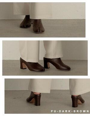 ≪1月5日発売≫脱げにくく歩きやすい個性派ブーティーが登場S/M/L/LLサイズ足袋ブーティーレディース/シューズブーツ足袋ブーツ足袋デザインつま先デザインチャンキーヒール脱げにくい歩きやすい