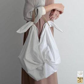 【残りわずかの少量アイテム】ナチュラル気分にぴったりなコットンバッグが登場 フリーサイズ ツイストデザインコットンハンドバッグ レディース/ハンドバッグ トートバッグ ナチュラル