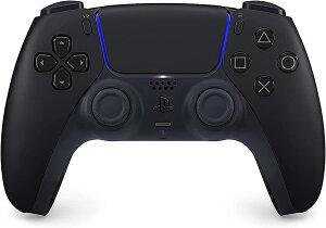 【新品】PS5 DualSense ワイヤレスコントローラー(ミッドナイト ブラック)[CFI-ZCT1J01]【宅配便】