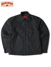 RED KAP レッドキャップ SLASH POCKET WORK JACKET black スラッシュポケット ワークジャケット ブラック 黒