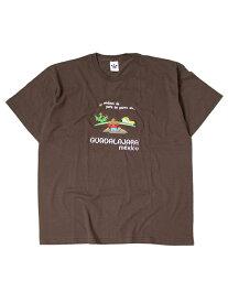 【インポート/あす楽】Guadalajara MEXICO S/S TEE brown 1 Tシャツ グアダラハラ メキシコ 刺繍 大きいサイズ ビッグT ブラウン1