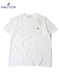 【正規品/インポート】NAUTICA LOGO TEE white ノーティカ ワンポイント ロゴ Tシャツ ホワイト
