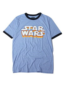 【正規品】【即納】STAR WARS TRIM S/S Tee blue/navy スターウォ—ズ トリム Tシャツ ブルー 青