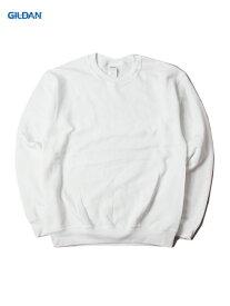 【即納】GILDAN ギルダン クルーネックスウェット セットイントレーナー プレーン 無地 ホワイト 白 8.0oz PLAIN SETIN TRAINER white