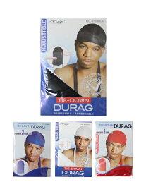 【メール便対応】ドゥーラグ 帽子 無地 ナイロン MAGIC Collection TIEDOWN DURAG black/white/royal/red