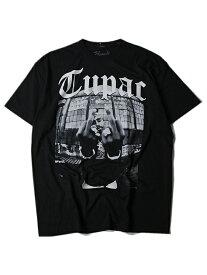 【インポート】 2PAC FUCK S/S TEE black ツーパック フォト Tシャツ ブラック 黒