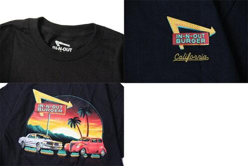 【インポート】IN-N-OUTBURGER2021AFRESHNEWYEARS/STEEblackインアウトバーガーフレッシュニューイヤー半袖Tシャツブラック