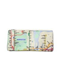 【インポート】NYC SUBWAY LINE NEW YORK CITY ALL-OVER MAP FLAT PENCIL CASE ニューヨーク市地下鉄 オールオーバー マップ フラット ペンケース