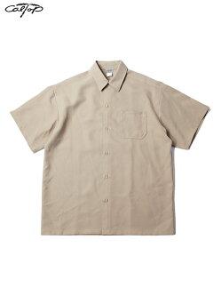 【インポート】CalTopSTANDERDSHORTSLEEVESHIRTSkhakiキャルトップスタンダードシャツ半袖カーキ
