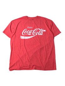 【インポート/即納】Enjoy Coca-cola 2018 S/S Tee red コカコーラ Tシャツ ロゴ 赤 レッド