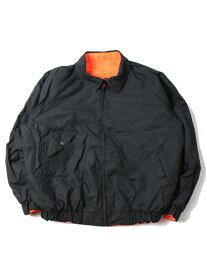 【インポート】COBRA CAPS REVERSIBLE WINDBREAKER safety orange/black コブラ キャップ リバーシブル ウインドブレーカー ブルゾン ジャケット セーフティーオレンジ/ブラック