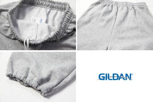 【USモデル】GILDANギルダンスウェットパンツ裏起毛グレーSWEATPANTSgray