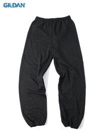【USモデル】GILDAN ギルダン スウェットパンツ 裏起毛 ブラック SWEAT PANTS black
