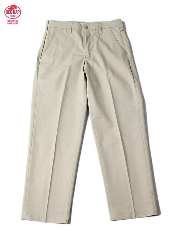 【あす楽】RED KAP レッドキャップ 8オンス プレスト ワークパンツ チノパン タン ベージュ PT010 WORK PANTS tan beige