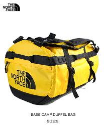 【USモデル】THE NORTH FACE ザ・ノースフェイス ベースキャンプダッフルバッグ ボストン ショルダー バックパック 3WAY イエロー BASE CAMP DUFFEL BAG - S summit gold
