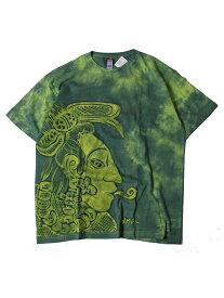 【インポート/即納】MEXICO UXMAL TEE green メキシコ ウシュマル 半袖Tシャツ グリーン 緑(B)