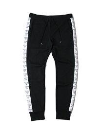 【US買い付け正規品】GUESS ゲス トラック パンツ ブラック TRACK PANTS black