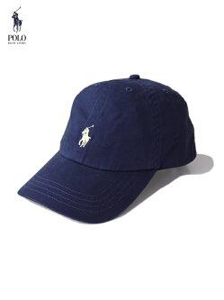 【US限定モデル/あす楽】ポロラルフローレン6パネルコットンキャップ帽子ネイビー紺POLObyRalphLauren6PANELCOTTONCAPrelayblue/wicketyellow710548524006