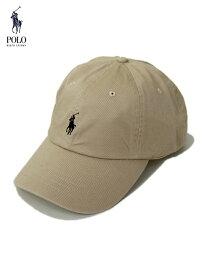 【US限定モデル正規品】ポロ ラルフローレン 6パネルコットンキャップ 帽子 ベージュ ヌバック カーキ POLO Ralph Lauren 6PANEL COTTON CAP nubuck khaki