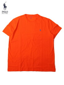 【US買い付け正規品】POLO Ralph Lauren ポロ ラルフローレン ポニー ワンポイント刺繍ロゴ Tシャツ オレンジ PONY ONE POINT LOGO S/S Tee orange