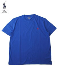 【US買い付け正規品】POLO Ralph Lauren ポロ ラルフローレン ポニー ワンポイント刺繍ロゴ Tシャツ ブルー PONY ONE POINT LOGO S/S Tee blue