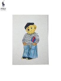 【メール便対応】【インポート】POLO Ralph Lauren POLO BEAR MASSAGE CARDS typeB ポロ ラルフローレン ポロベアー メッセージカード グリーティングカード