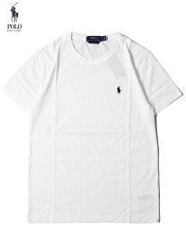 【US買い付け正規品】POLO Ralph Lauren PONY ONE POINT LOGO S/S TEE white ポロ ラルフローレン ポニー ワンポイント ロゴ 半袖Tシャツ ホワイト 2020