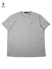 【US買い付け正規品】POLO Ralph Lauren PONY ONE POINT LOGO S/S TEE gray ポロ ラルフローレン フルカラーポニー ワンポイント ロゴ 半袖Tシャツ ヘザーグレー