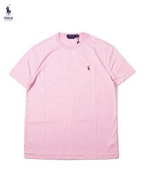 【US買い付け正規品】POLO Ralph Lauren PONY ONE POINT LOGO S/S TEE pink ポロ ラルフローレン フルカラーポニー ワンポイント ロゴ 半袖Tシャツ ピンク