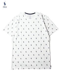 【インポート】POLORalphLaurenMONOGRAMPONYLOGOSHORTSLEEVETEEwhiteポロラルフローレンモノグラムポニーロゴ半袖Tシャツホワイト