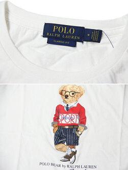 【インポート】POLORalphLaurenPOLOSPORTBEARS/STeewhiteポロラルフローレンベアーTシャツホワイト