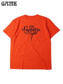 【あす楽】GAME ゲーム MEXICO LOGO S/S TEE california orange Tシャツ メキシコ ロゴ バックプリント グラフィティ カリフォルニアオレンジ