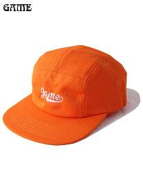 【あす楽対応】GAME ORIGINAL ゲーム オリジナル MESH JET CAP Orange メッシュ ジェット キャップ オレンジ