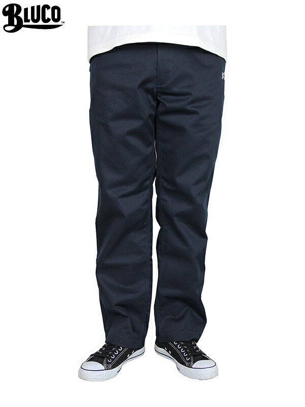 【あす楽対応】BLUCO work garment / OL-004 STANDARD WORK PANTS  navy