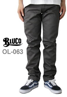BLUCO work garment / OL-063 WORK PANTS Slim gray (beulko work garment slim work pants grey) 10P03Dec16