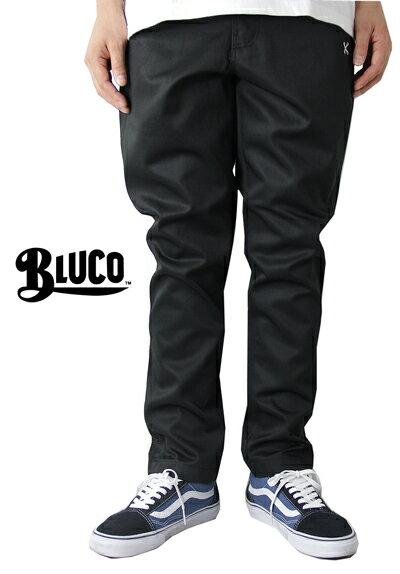 【あす楽対応】BLUCO work garment(ブルコ ワークガーメント) / OL-062 KNICKER BOCKERS PANTS black(ニッカポッカ ワークパンツ ブラック 黒)