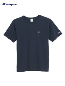 【正規取扱店】Champion チャンピオン ワンポイント ロゴTシャツ 半袖 紺色 ネイビー ONEPOINT Logo S/S Tee navy