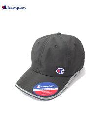 【あす楽/USモデル】Champion チャンピオン ワンポイントロゴ ナイロンキャップ ブラック LOGO NYLON CAP black