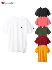 【正規取扱店】Champion チャンピオン ベーシック ワンポイント ロゴTシャツ 半袖 ONEPOINT LOGO S/S Tee